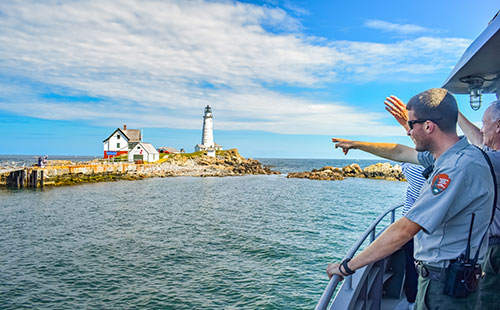 Boston Light Cruise Ranger Caretaker