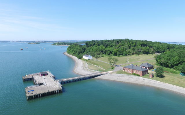 Peddock Island Dock Welcome Center and Chapel
