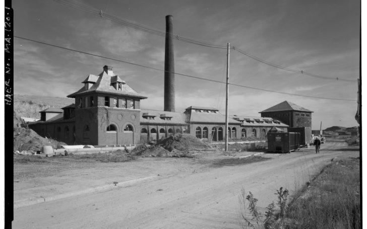 Deer Island Pump Station 1968