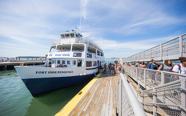 Fort Independence Ferry