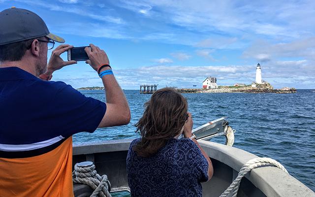 Boston Harbor Lighthouse Tour