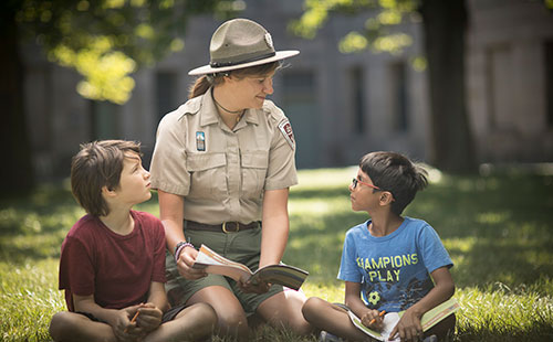 Georges Island Junior Ranger Kids