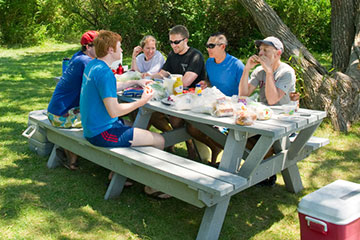 Lovells Island Grape Picnicking Amenities