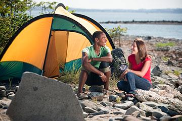 Lovells Island Camping