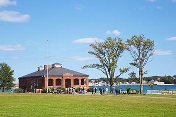 Peddocks Island Welcome Center