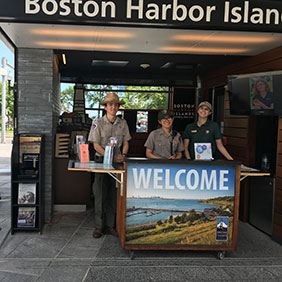 Welcome Center Starting Point